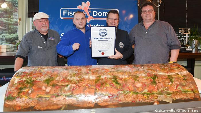 World record portion of Fischsülze