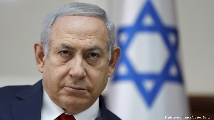 Kabinettsitzung in Jerusalem Benjamin Netanjahu