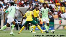 Africa Cup Fußball | Südafrika vs. Nigeria