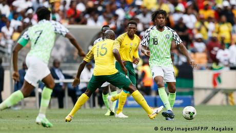 Africa Cup Fußball | Südafrika vs. Nigeria (Getty Images/AFP/P. Magakoe)
