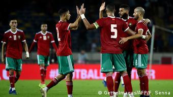 Africa Cup Fußball | Marokko vs. Kamerun (Getty Images/AFP/F. Senna)