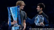 ATP World Tour Finals in London | Finale Alexander Zverev vs. Novak Djokovic
