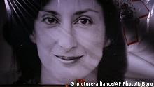 Malta Gedenken ermordete Journalistin Daphne Caruana Galizia