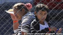 Mexiko Tijuana Versorgung Migranten aus Mittelamerika