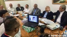 Tarique Rahman, BNP, Dhaka, Bangladesh, Skype. Copyright: Our partner bdnews24.com