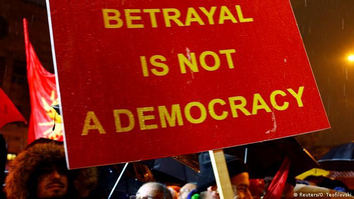 Prevara nije demokracija - poručuju prosvjednici