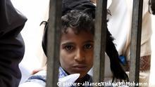 Jemen - Geflohene Kinder