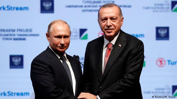 Putin and Erdogan (Reuters/M. Sezer)