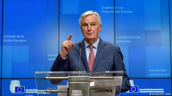 Brexit-Chefunterhändler Michel Barnier (Reuters/E. Vidal)