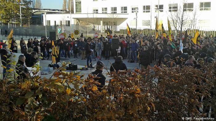 Deutschland Kundgebung Identitäre Bewegung in Bonn