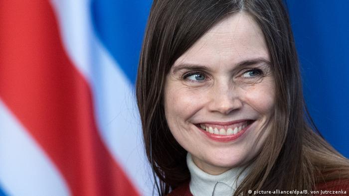Isländische Premierministerin Katrin Jakobsdóttir