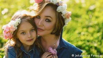Мама Екатерина с дочерью Анной