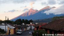 The Fuego Volcano is seen from Antigua Guatemala, Guatemala, November 16, 2018. REUTERS/Jose Cabezas