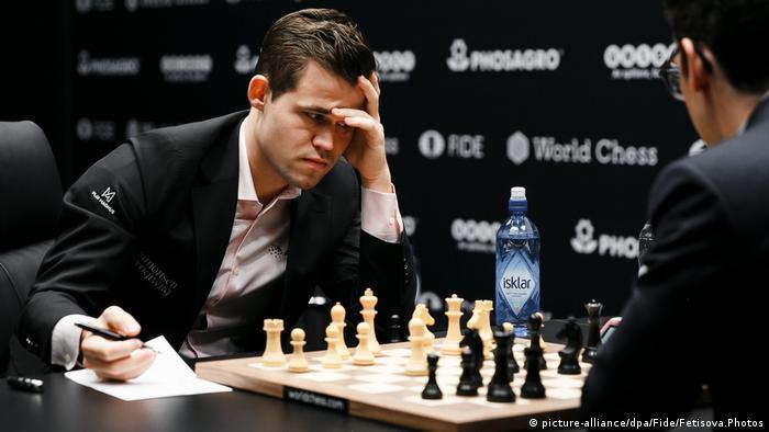 Schachweltmeisterschaft 2018 | Magnus Carlsen vs. Fabiano Caruana | 7. Partie