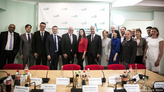 Frank-Walter Steinmeier in Ukraine 2018