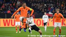 UEFA Nations League Deutschland - Niederlande Virgil van Dijk (Getty Images/Bongarts//M. Hangst)