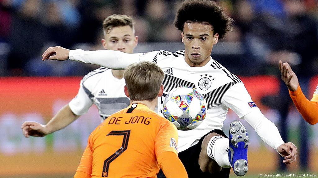 Germany Drawn With Rivals Netherlands In Euro 2020 Draw