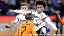 UEFA Nations League Deutschland - Niederlande Leroy Sane
