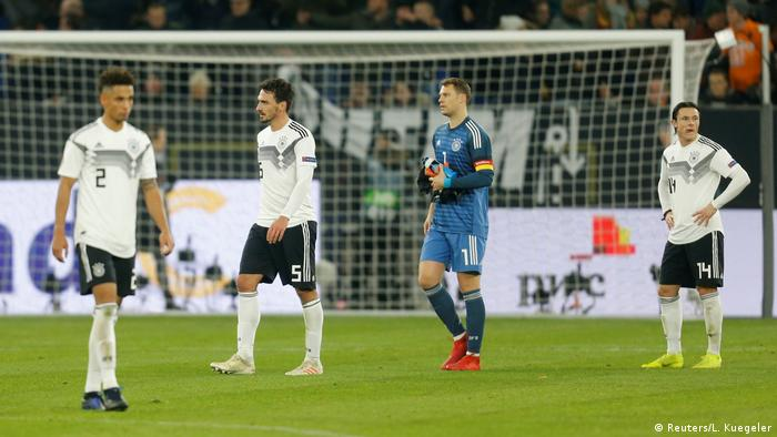 Germany struggled in the Nations League (Reuters/L. Kuegeler)