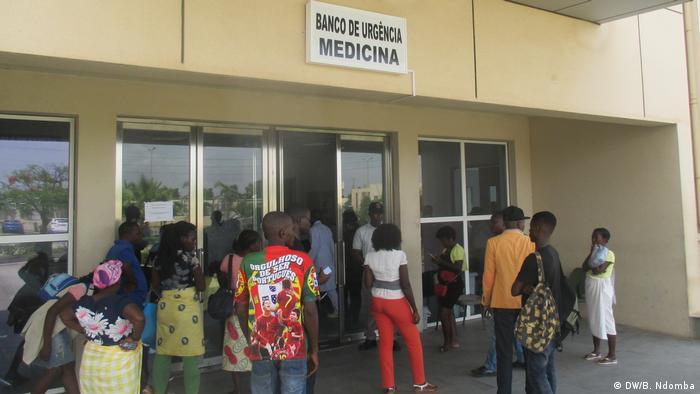 Banco de urgência do Hospital Geral de Luanda (2018)