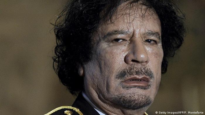 Mouammar Kadhafi, ancien dirigeant de la Libye