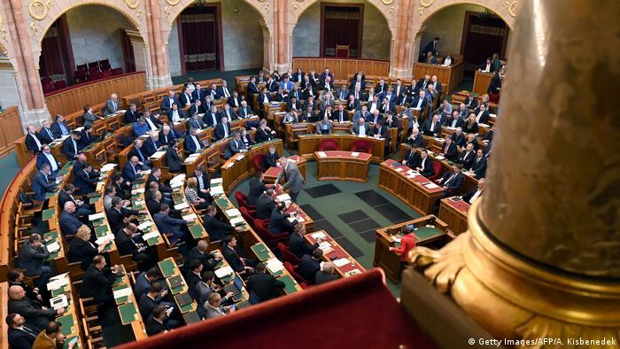 Ungarn Parlament in Budapest