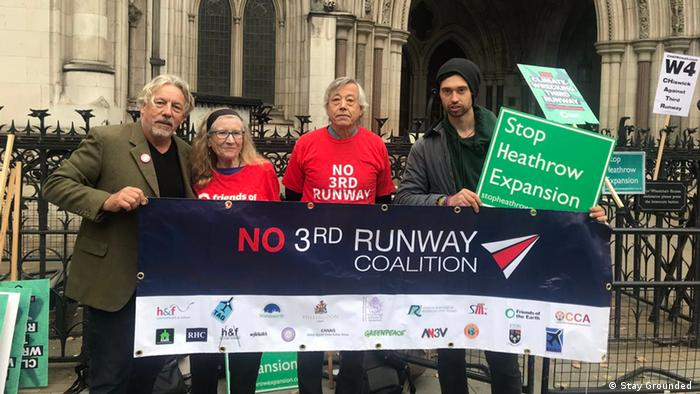 London Proteste gegen Ausbau des Flughafens Heathrow