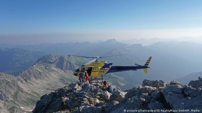 Allgäu terancam reruntuhan lereng gunung