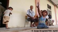 Jemen Opfer von Landminen