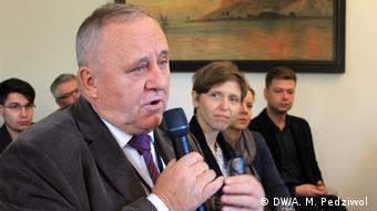 Gen. Pacek na konferencji Polska Polityka Wschodnia 2018 w Wojnowicach (2018)