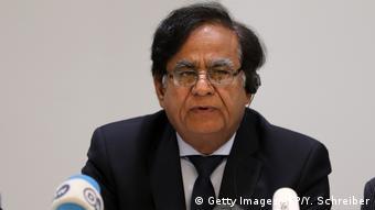 Deutschland PK Saif-ul-Malook - Anwalt von Asia Bibi