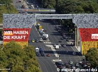 پوستر تبلیغاتی حزب دمکرات مسیحی آلمان برای انتخابات این کشور