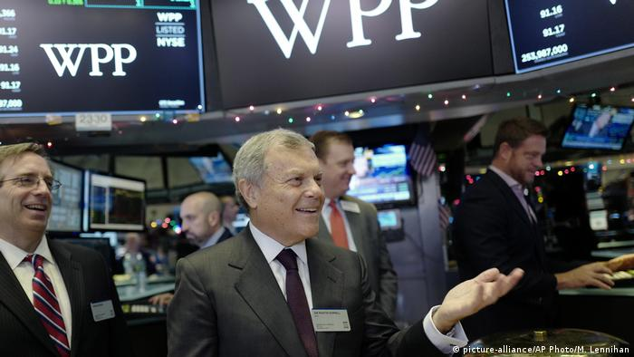 Sir Martin Sorrell (picture-alliance/AP Photo/M. Lennihan)