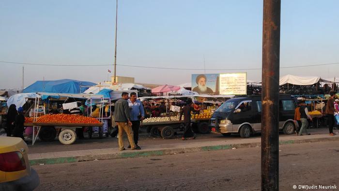 A market in western Mosul