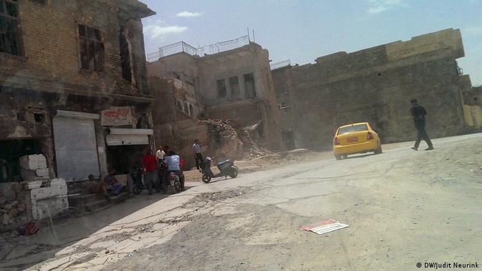 A street in Mosul