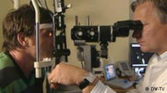 16.09.2009 DW-TV FIT UND GESUND Augen 2