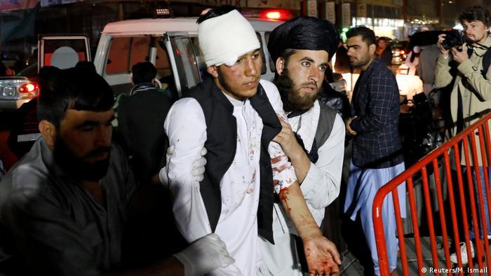 Ein Verletzter am Anschlagsort