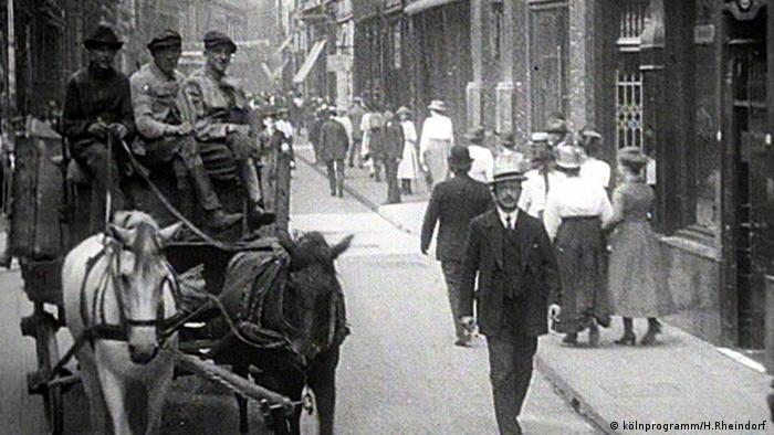 Hohe Straße in Köln um 1900 (kölnprogramm/H.Rheindorf )