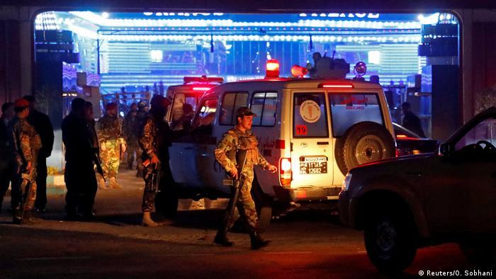 Selbstmordattentat in Kabul
