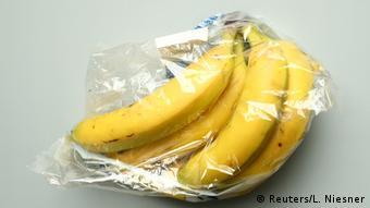Бананы в пластиковой упаковке