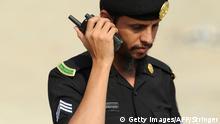 Saudi-Arabien Polizist