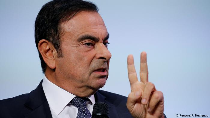 Frankreich Paris Carlos Ghosn (Reuters/R. Duvignau)