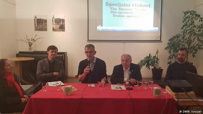 Deutschland Berlin Veranstaltung zu 50 Jahre Gastarbeiter aus Jugoslawien (DW/N. Kreizer)