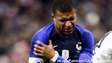 Fußball Freundschaftsspiel Frankreich - Uruguay