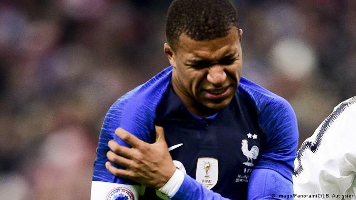 Fußball Freundschaftsspiel Frankreich - Uruguay (Imago/PanoramiC/J.B. Autissier)