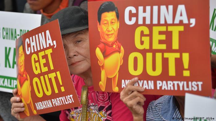 Manila potests against China-funded Kaliwa Dam (Getty Images/AFP/T. Aljibe)