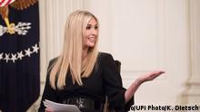 Ivanka Trump, the daughter of President Donald Trump, speaks at an event highlighting the economy and job opportunities in America, at the White House in Washington, D.C. on October 31, 2018. Trump was joined by an audience of American manufactures and laborers. PUBLICATIONxINxGERxSUIxAUTxHUNxONLY WAP20181031320 KEVINxDIETSCH