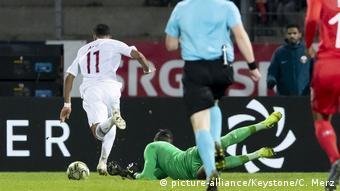 Fußball Länderspiel Schweiz - Katar (picture-alliance/Keystone/C. Merz)