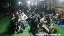Libya Migrant Blockade