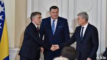 Das Präsidium von Bosnien und Herzegowina